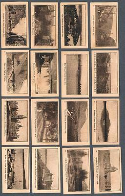 1910's Tuckett C246 Canadian Views Tobacco Cards Complete Set of 50