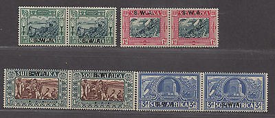 **SW Africa, SC# B5-8 (Pairs) MNH, VF Complete Set, CV $122.50