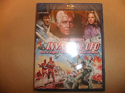 GERRY ANDERSON INVASION UFO BLU RAY ED BISHOP SHADO WIDESCREEN RESTORED 5.1 35mm