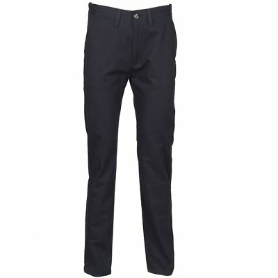 Henbury-Business & Formal Trousers-65/35 flat fronted chino trousers--