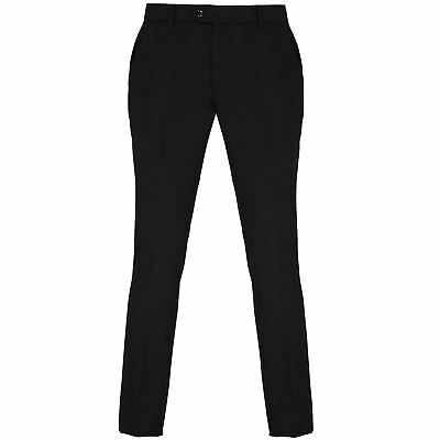 Premier-Business & Formal Trousers-Mens Slim fit polyester trousers