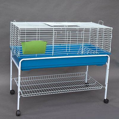 Flyline Bunny Hotel 120 Rabbit Guinea Pig Chinchilla Cage with Stand