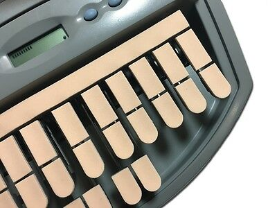 Steno Writer Peach Thin Foam Rubber Keytop Covers Free US Shipping