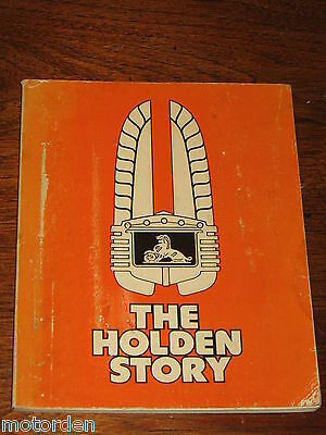 THE HOLDEN car STORY rare GMH book 1948 FX to 1976 Sunbird FREE POST NO RESERVE