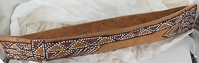.rare / Large / Museum Quality Australian Aboriginal Tiwi Islands Carved Boat