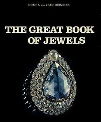 "HUGE ""Great Book of Jewels"" Ancient Medieval Gems Jewelry Origins 200+ Color Pix"