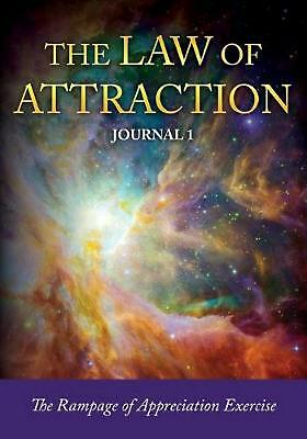 The Law of Attraction Journal 1 by Journal Easy (English) Paperback Book Free Sh
