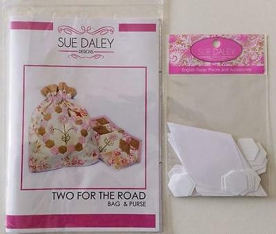 English Paper Piecing Sue Daley Bag And Purse Two For The Road