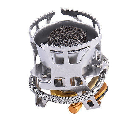 NEW Portable Mini Steel Stove for Outdoor Camping Picnic Foldable Gas Burner