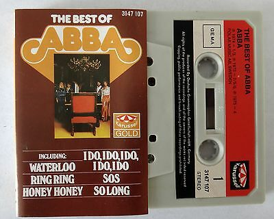 The Best of Abba MC Kassette karussell gold