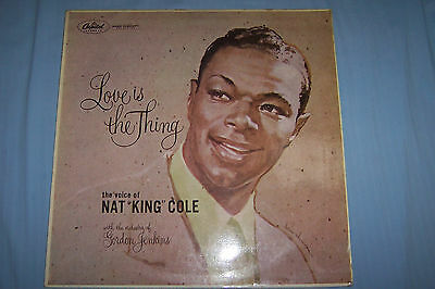 """Love Is The Thing-Nat King Cole-12"""" Mono Vinyl Lp"""