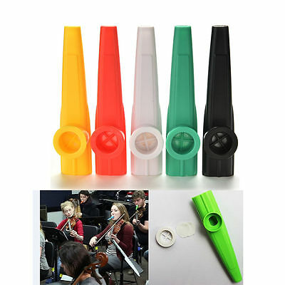 Approx 11.5cm Plastic Kazoo Classic Musical Instrument For Kids Love Music