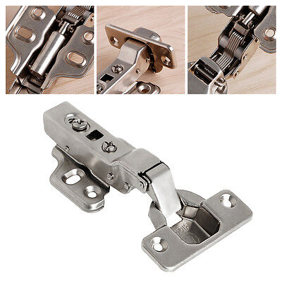 35mm Door Hinge Cups Soft Close Full Overlay Kitchen Cabinet Cupboard Hydraulic
