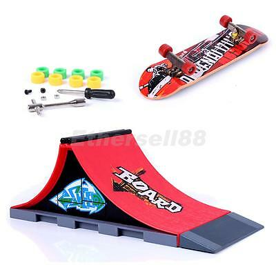 Mini Skateboard and Ramp Accessories set Pattern A#