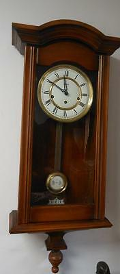 vienna style westminster wall clock