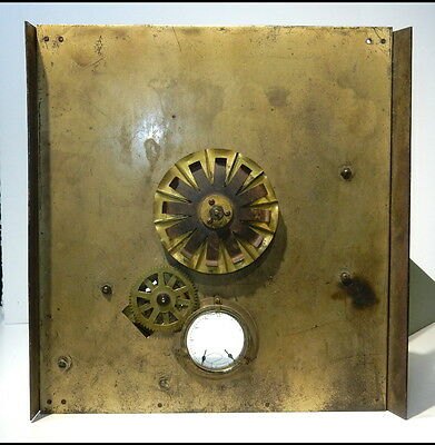 PUBLICITY CLOCK Co. Inc. Clockworks C:1920 in-Theater Advertising Device.