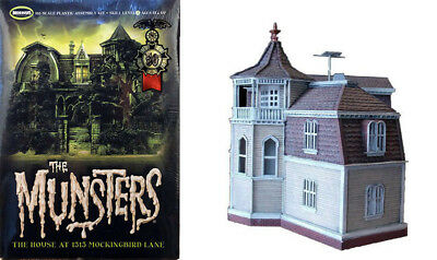The Munsters House TV Serie 1:87 Model Kit Bausatz Moebius 929 Haus