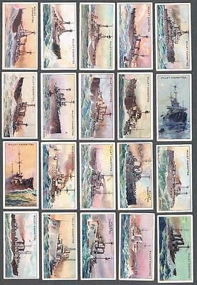 1910 Wills's The World's Dreadnoughts Tobacco Cards Complete Set of 25