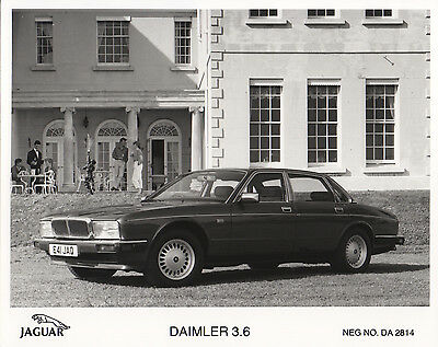 Daimler 3.6 Press Photograph - 1987