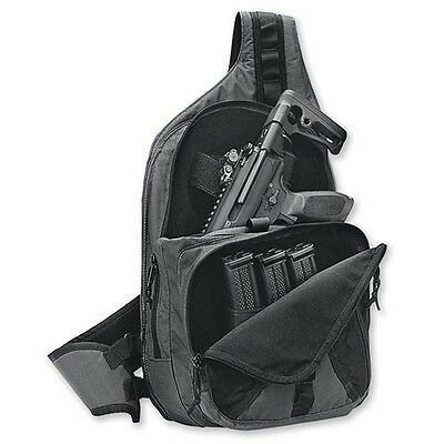 Sig Sauer BAG-MPX-DEPLOY-BLKGRY MXP Deployment Bag Low Visibilty Two-Tone