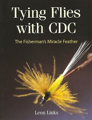 LINKS FISHING & FLYTYING BOOK TYING FLIES WITH CDC MIRACLE FEATHER paperback NEW