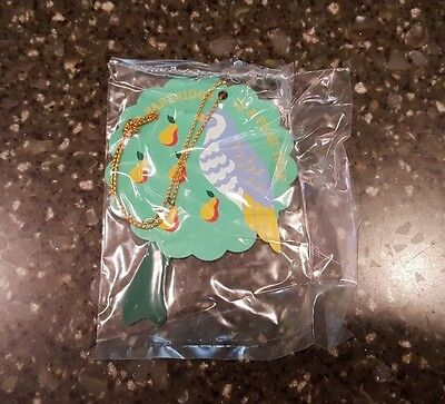 Avon Gift Collection Twelve Days of Christmas Ornament Partridge Pear Tree NOS