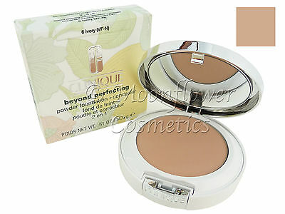 Clinique Beyond Perfecting Powder Foundation + Concealer IVORY 6  NEW & BOXED