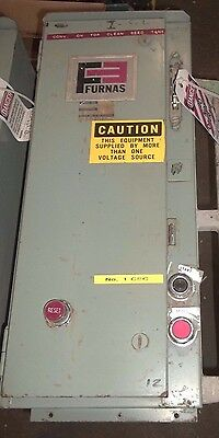 Furnas 14Cf32Ac Combination Starter Size 0 Fusible Fused Ge No Handle 18A (35)
