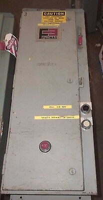 Furnas 14Hp32A-81 Combination Starter Size 3 Fusible Fused Ge  90A Ser A (36)