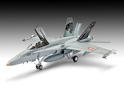 Revell - F/A-18C Hornet Swiss Air Force, 1:48, Ovp, Neu, 04874