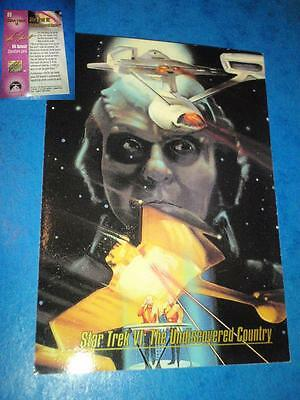 Star Trek Vi; The Undiscovered Country, #89. Skybox Trading Card.