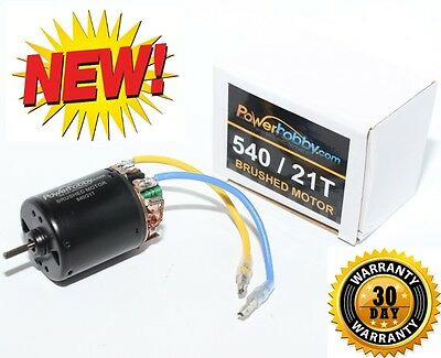 Powerhobby 540 21T Brush Brushed Motor For 1/10 Car Truck Buggy TC4 RC10T4.1
