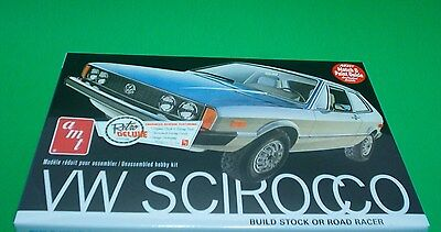 VW Scirocco Road Racer or Stock version 1:25 scale AMT Retro Round 2 Models