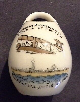 RARE ! 1st AVIATION WEEK HELD IN GREAT BRITAIN - BLACKPOOL Oct 1909