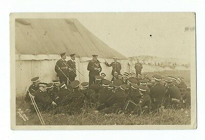 EARLY VINTAGE POSTCARD BLACKPOOL AMBULANCE CAMP SQUIRES GATE 1920's
