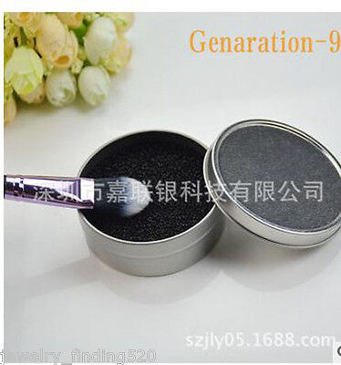 Makeup Remover Brush Color Clean Eyeshadow Sponge Tool Cleaner Box Hotsale