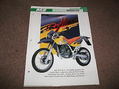 MZ BAGHIRA the complete essential superbike file