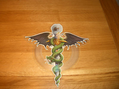 """Motley Crue-dr feelgood.7"""" shaped picture disc."""