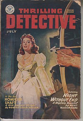 Thrilling Detective July 1949      British Edition Of An American Publication
