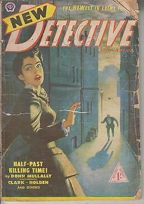 New Detective No 8       British Edition Of An American Publication