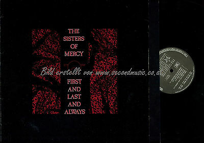 Lp--The Sisters Of Mercy The First And Last And Always // Ois // Gema