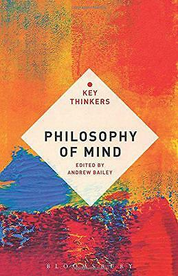Philosophy of Mind: The Key Thinkers,  | Paperback Book | 9781441142764 | NEW
