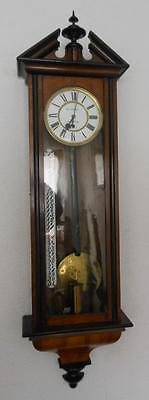 very rare month running walnut and ebonised vienna with day counter by reich