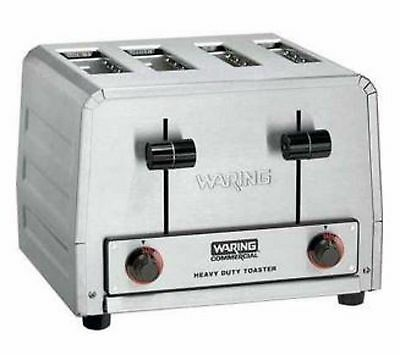 New Waring Wct810 Heavy Duty Commercial Bagel Regular Bread Toaster Pop-Up