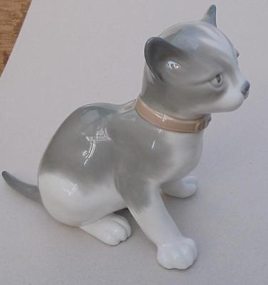 1985 NAO by LLADRO Cat Figurine