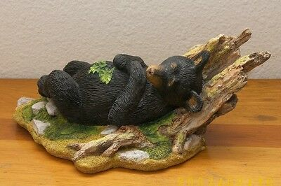 Country Artists Natural World - Black Bear Cub Resting / Sleeping - New in Box