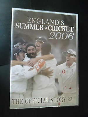 ENGLAND'S SUMMER OF CRICKET 2006 - (NEW) The Official Story (3xDVD BOX SET 2006)