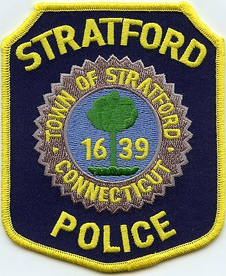 Stratford Connecticut Ct Police Patch