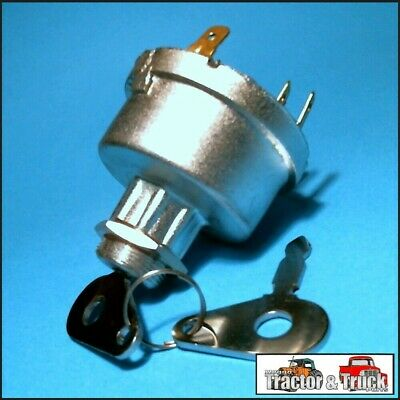 ISW3504 Ignition Key Switch Ford 2000 3000 5000 Tractor & 2600 3600 4600 6600