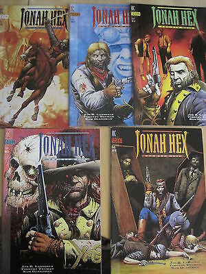 JONAH HEX, TWO GUN MOJO :COMPLETE 5 ISSUE SERIES by LANSDALE,TRUMAN.VERTIGO.1993